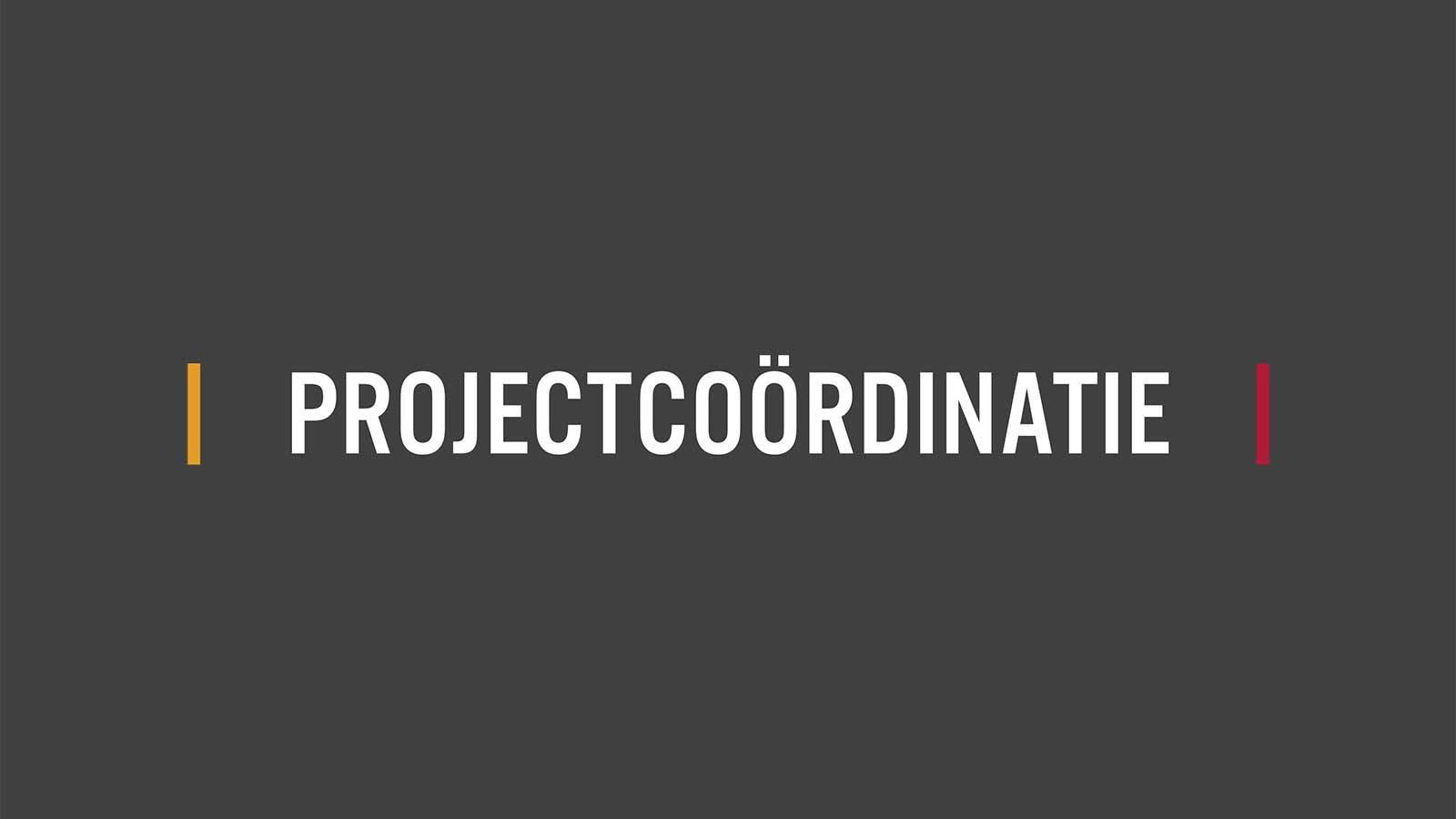 Bouwgoed - Projectcoördinatie