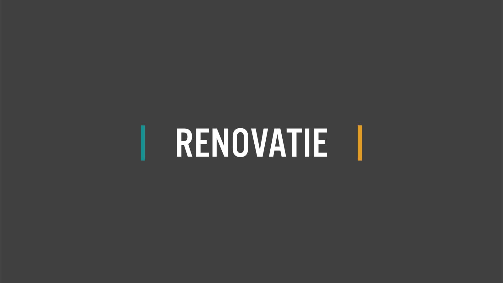 Bouwgoed - Renovatie